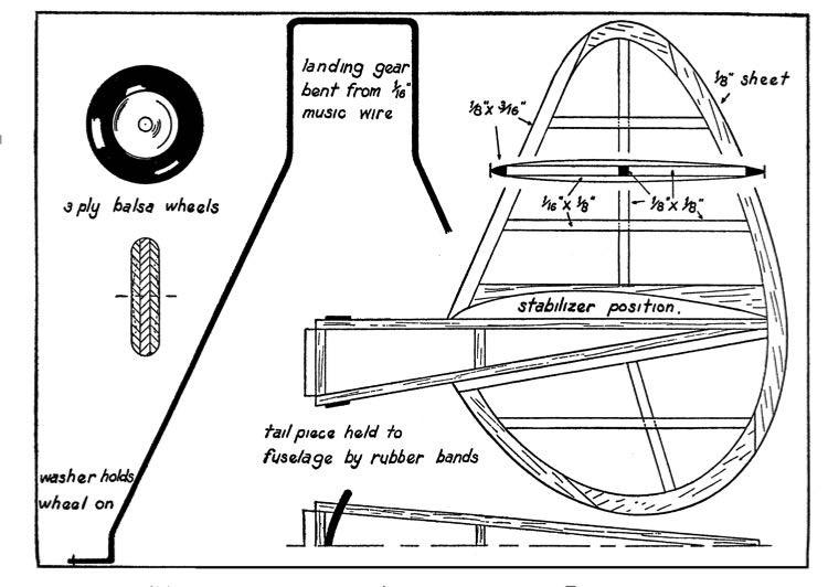 huri3 model airplane plan
