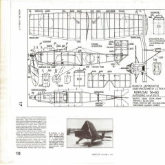 Kokusaki Ta-Go model airplane plan