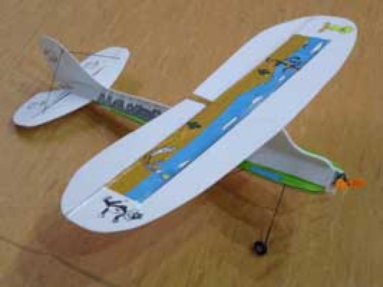 le parasol model airplane plan