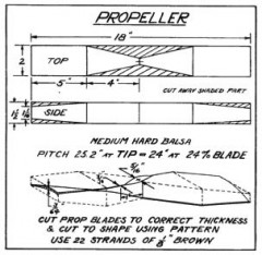 stoutp3 model airplane plan