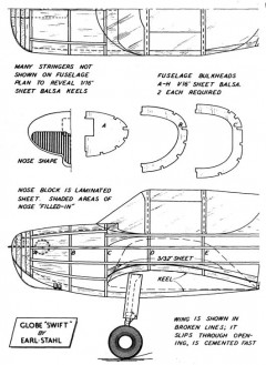 swiftp1 model airplane plan
