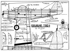 tbd model airplane plan