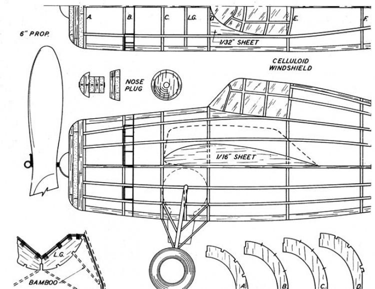 wcat 1 model airplane plan