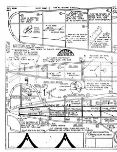 winniemae model airplane plan
