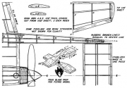 xp-54-p4 model airplane plan