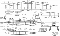 Zlin 526 AS model airplane plan