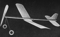 Minute Man model airplane plan