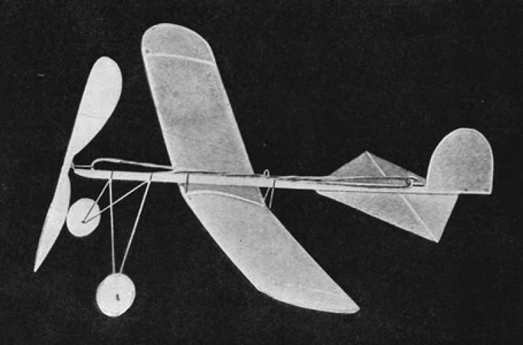 Baby R.O.G. model airplane plan
