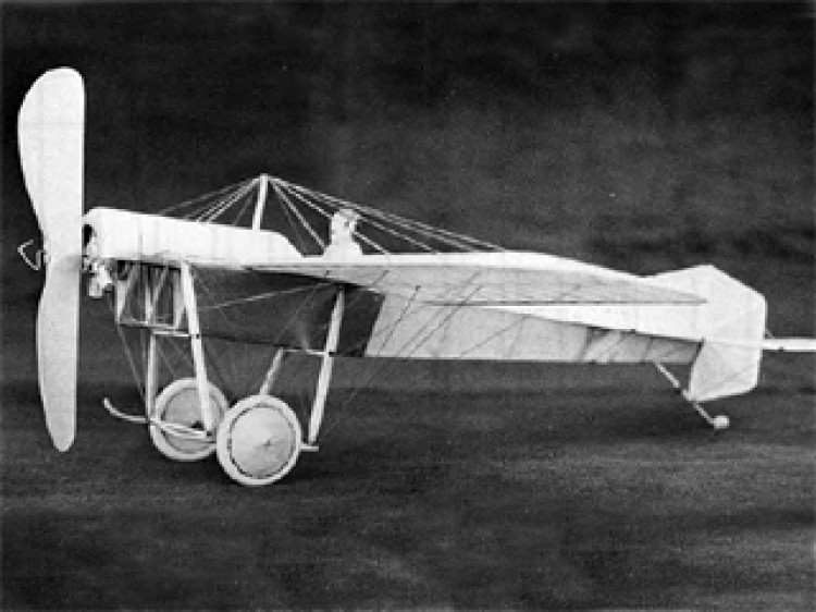 1912 Blackburn Monoplane model airplane plan