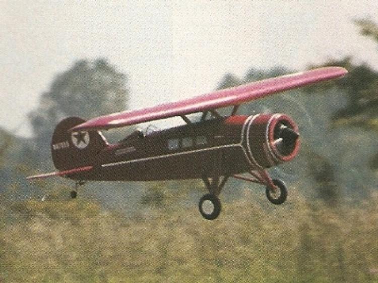1928 Lockheed Vega Air Express model airplane plan