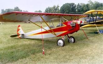 1929 Heath Parasol model airplane plan