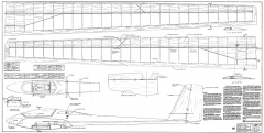 ASW-17 Astroflight model airplane plan