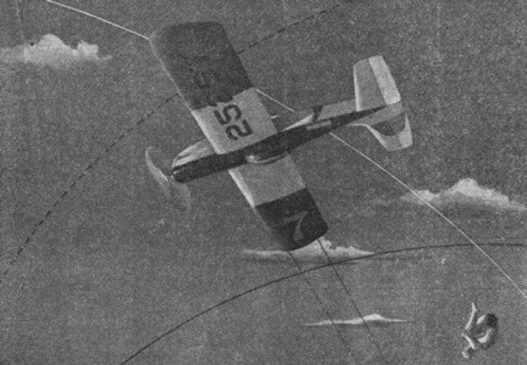Acrobata model airplane plan