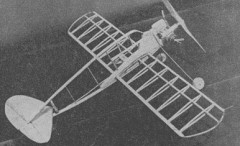 Aero A-200 model airplane plan