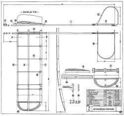 Aeromodelo Para Instruccion model airplane plan