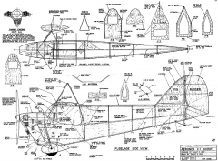 Aeronca C-1 Scout 61in model airplane plan