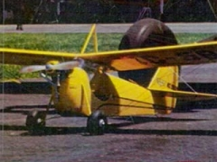 Aeronca C-3  model airplane plan