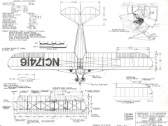 Aeronca C-3 Master model airplane plan
