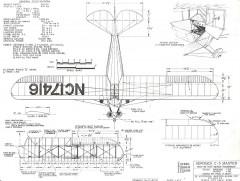 Aeronca C-3 Master model airplane plan
