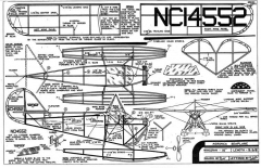 Aeronca Seaplane Comet 16in model airplane plan
