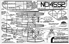 Aeronca Seaplane Comet 16in model airplane plan
