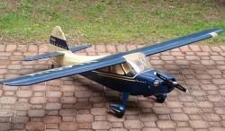AERONCA SEDAN model airplane plan