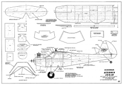 Aeronca Sedan Monogram CL model airplane plan