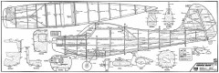 Aeronca Sedan Pica 84in model airplane plan