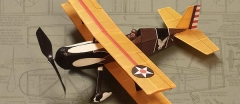 Air Ace Models Born Loser P-6E model airplane plan