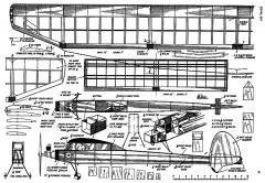 Blueboy  (with article) model airplane plan