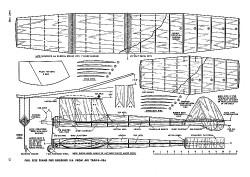 Sweet Sixteen model airplane plan