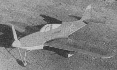 Airacobra model airplane plan