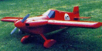 Airmark Cassutt model airplane plan