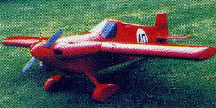 Airmark Cassutt model airplane plan