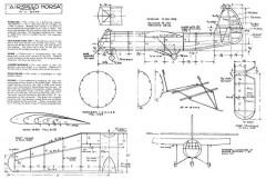 Airspeed Horsa model airplane plan