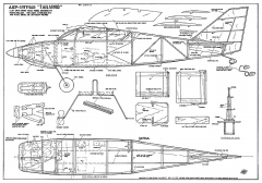 Ajep Wittman Tailwind 39in model airplane plan