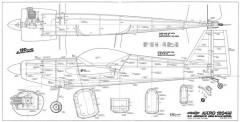 Akro 1204m model airplane plan