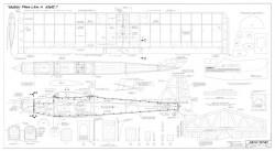 Akro Knat model airplane plan