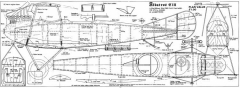 AlbatrosC111 model airplane plan