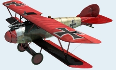 ALBATROS  D.Va model airplane plan