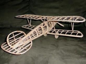 Albatros D.V model airplane plan