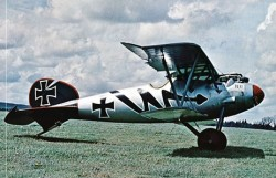 Albatros D5A model airplane plan