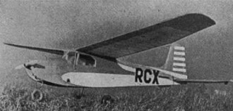 Alfa model airplane plan