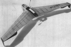 Alien model airplane plan
