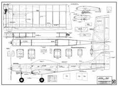 Alley Kat model airplane plan