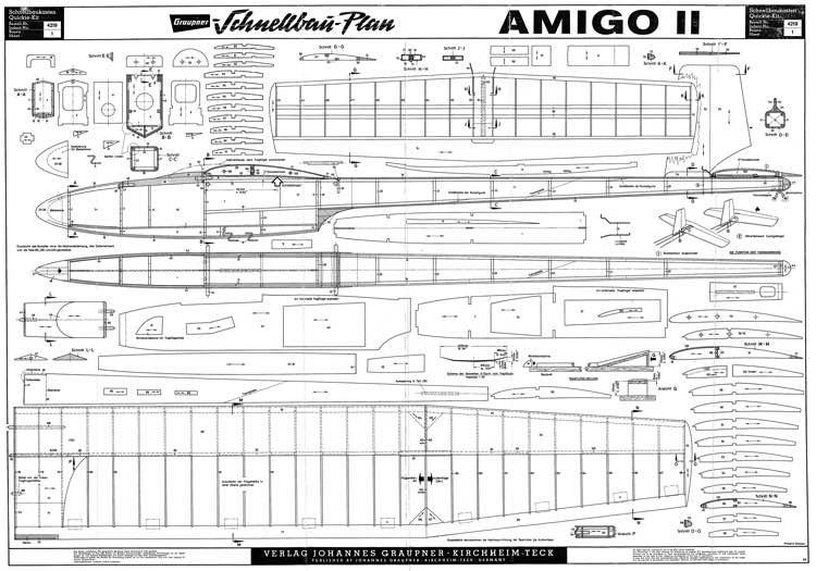 Amigo 2 model airplane plan