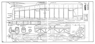 Ampel 7 model airplane plan