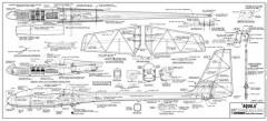 Aquila model airplane plan