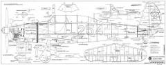 Arado 96B model airplane plan