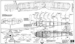 Arado Ar-76 model airplane plan
